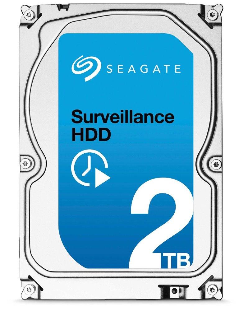 Pevný disk Seagate 2TB HDD Surveillance Pevný disk, 2TB HDD, ST2000VX003, SATA 600, Interní 3,5, 5900RPM, 64 MB cache ST2000VX003