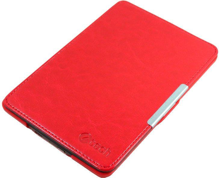 Pouzdro C-TECH PROTECT Amazon Kindle 6 TOUCH Pouzdro, pro Amazon Kindle 6 TOUCH, WAKE/SLEEP funkce, hardcover, AKC-10, červené AKC-10R