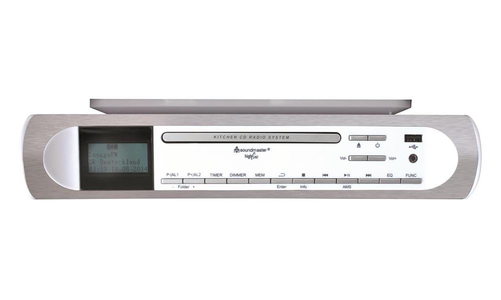 Rádio Soundmaster UR2170 Rádio, kuchyňské, CD, USB, MP3, bílá barva UR2170