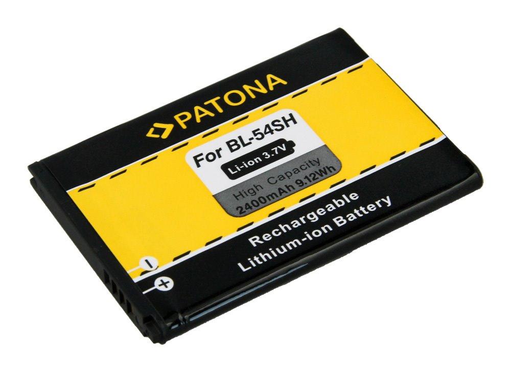 Baterie PATONA kompatibilní s LG BL-54SH 2400mAh Baterie, pro mobilní telefon, LG BL-54SH, 2400mAh, 3.7V, LG Optimus LTE 3, LG F260, LG F260K, LG F260S, LG Optimus F7, LG870, LG US870, LG Opt PT3085