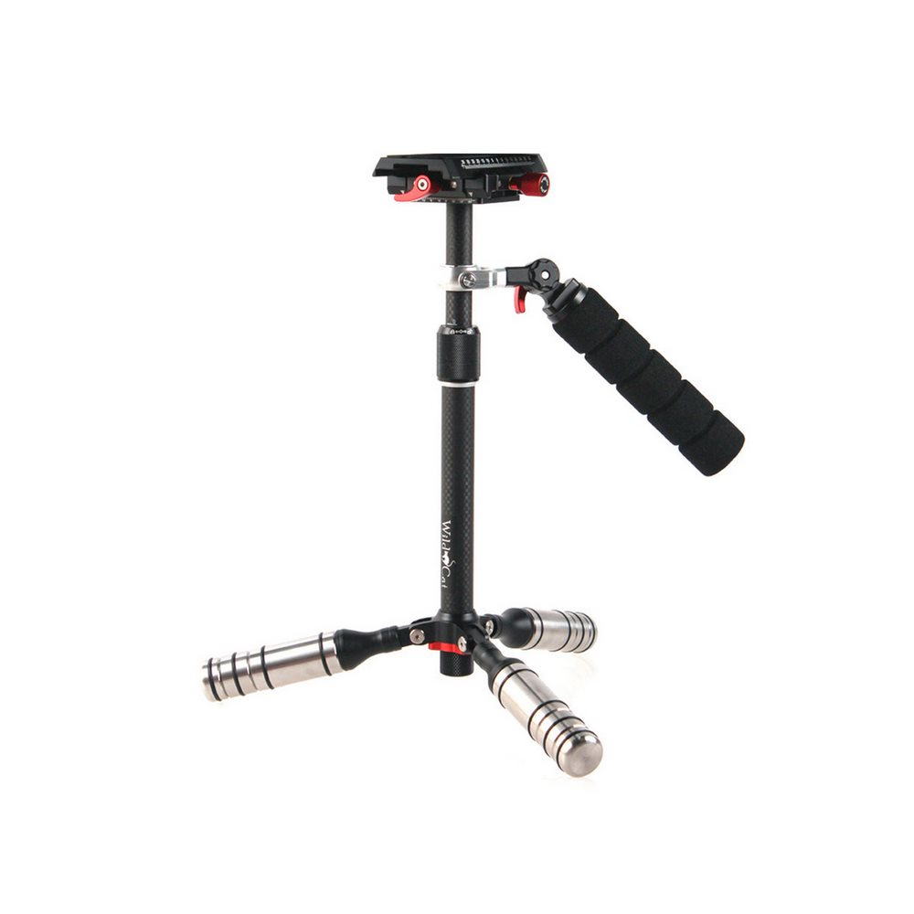 Stabilizátor Rollei Wild Cat Stabilizer Stabilizátor, DSLR, pro natáčení videí, 25cm, nosnost 2kg, taška 20958