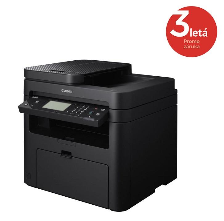 Multifunkční tiskárna Canon i-SENSYS MF217W Černobílá multifunkční laserová tiskárna, A4, 23ppm, 1200x1200dpi, ADF, Fax, LCD, USB, LAN, WI-FI 9540B033