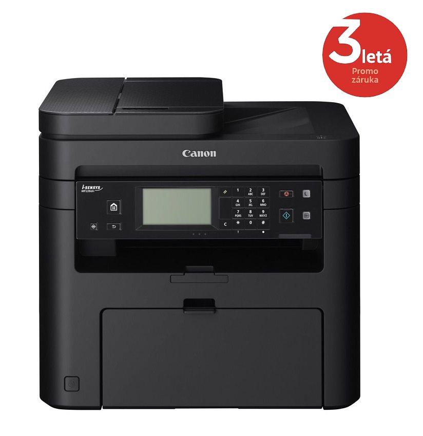Multifunkční tiskárna Canon i-SENSYS MF226dn Černobílá multifunkční laserová tiskárna, A4, 27 ppm, 1200 x 1200dpi, ADF, Duplex, Fax, LCD, USB 9540B017