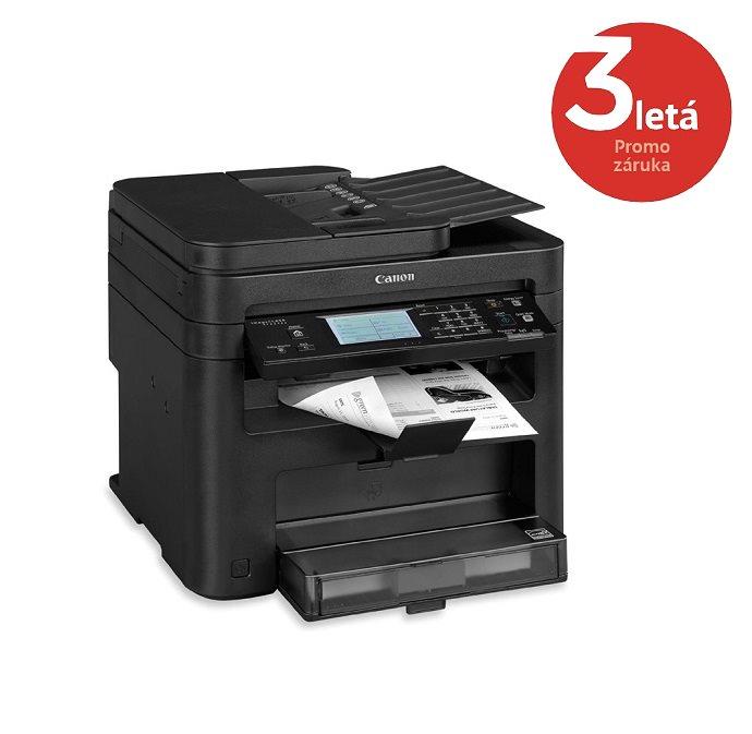 Multifunkční tiskárna Canon i-SENSYS MF229dw Černobílá multifunkční laserová tiskárna, A4, 27ppm, 1200x1200dpi, DADF, Duplex, Fax, LCD, USB, WI-FI 9540B002