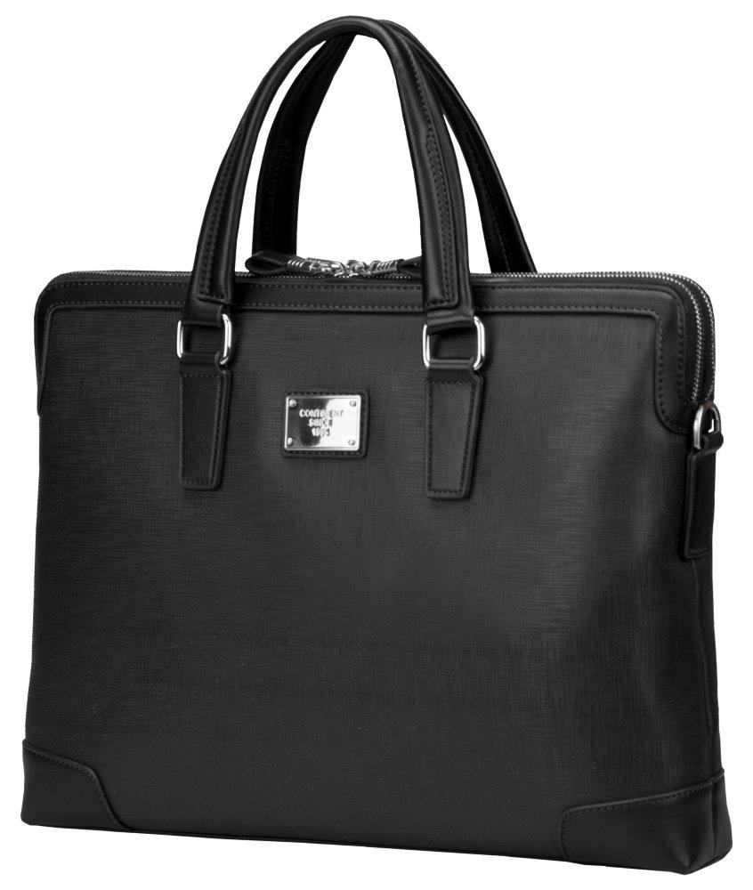 """Brašna Continent CM-161 černá Brašna, pro notebook, 15,6"""", umělá kůže, elegantní, černá, dámská"""