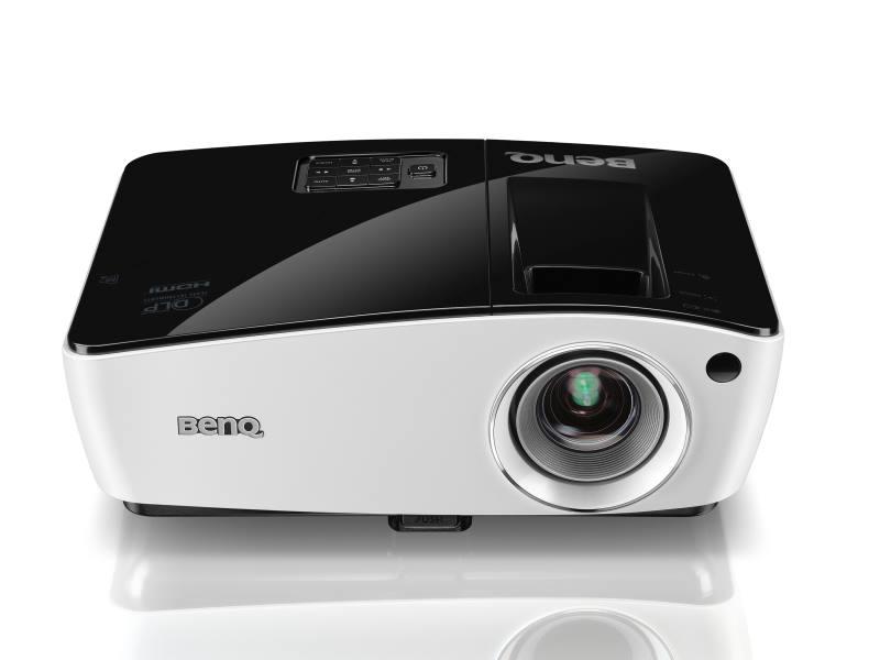 Projektor BenQ MW724 Projektor, WXGA, DLP, 3700 ANSI, 13000:1, VGA, HDMI, LAN 9H.JA877.33E