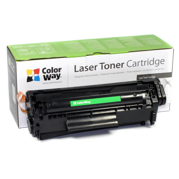 Toner ColorWay za HP 49A (Q5949A) černý Toner, kompatibilní s HP 49A (Q5949A) a 53A (Q7553A), pro HP LaserJet M1120, M1132, M1136MFP, M1210, M1213MFP, M1214, M1522, P1005, 2500 stran, černý