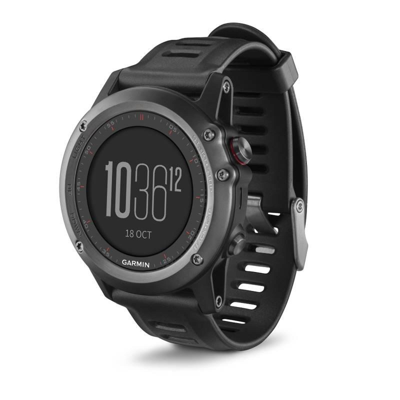 Sportovní hodinky Garmin fenix3 Gray Performer Sportovní hodinky, lyže, běh, plavání, kolo, navigace, snímač tepu HR Run Premium 010-01338-11