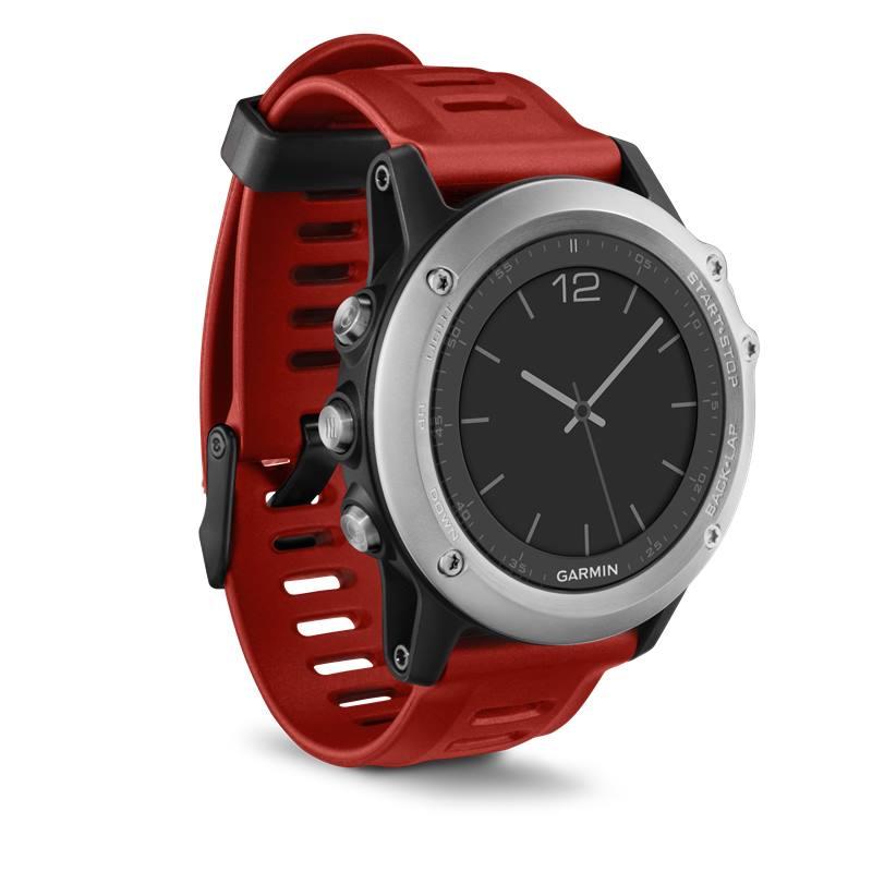 Sportovní hodinky Garmin fenix3 Silver Performer Sportovní hodinky, lyže, běh, plavání, kolo, navigace, snímač tepu HR Run Premium 010-01338-16
