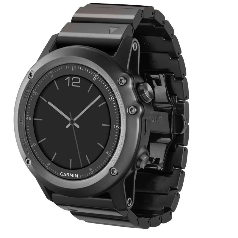 Sportovní hodinky Garmin fenix3 Sapphire Sportovní hodinky, lyže, běh, plavání, kolo, navigace 010-01338-21