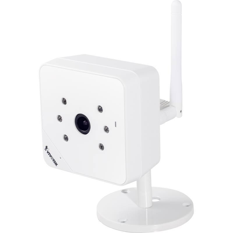IP kamera VIVOTEK IP 8131W IP kamera, max.1280×800 1 Mpix až 30 sn/s, obj. 3.6 mm, DI, IR-cut, IR-LED, SD,SDHC slot, Wifi IP8131W