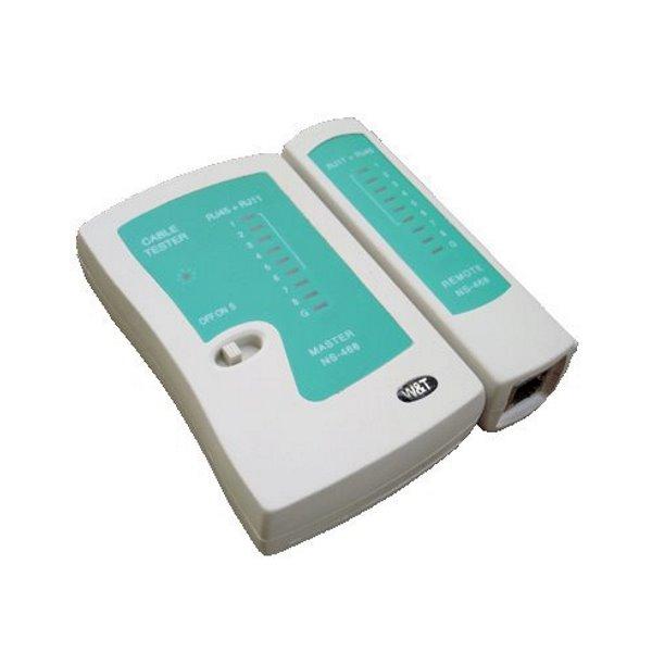 Kabelový tester DATACOM NS-468 LED Kabelový tester, RJ45,12,11, LED 4581