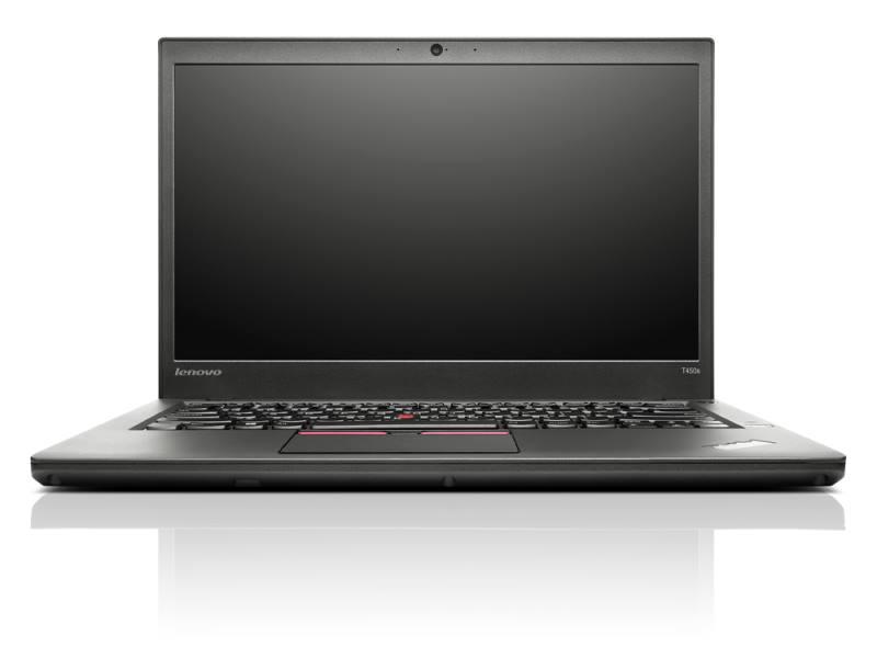 Notebook Lenovo ThinkPad T450s Notebook, i5-5300U, 8 GB, SSD 256 GB, 14HD+, W7P+W8.1P, 3yOnSite 20BW000EMC