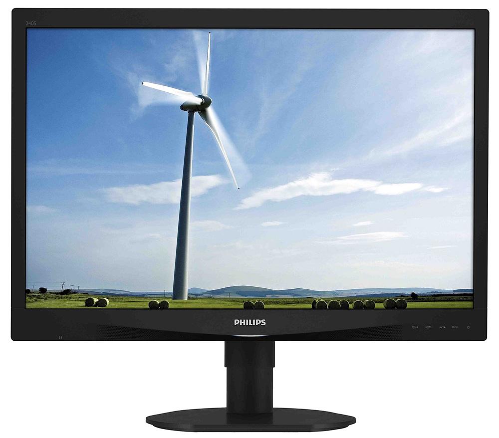 LED monitor PHILIPS 240S4QMB 24 LED monitor, 1920x1200, 5ms, 20mil.:1, DVI, PLS, pivot, repro 240S4QMB/00