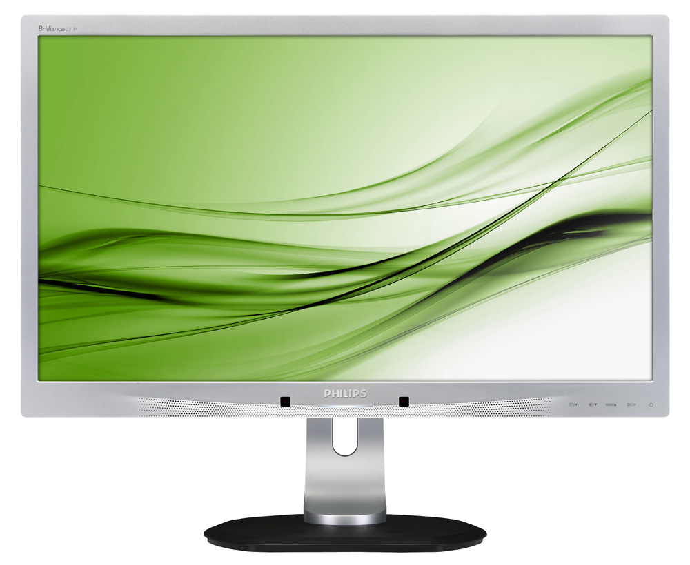 LED monitor PHILIPS 231P4QUPES 23 LED monitor, 1920x1080, 7 ms, 20mil:1, VGA, IPS, 3x USB, pivot, repro, PowerSensor 231P4QUPES/00