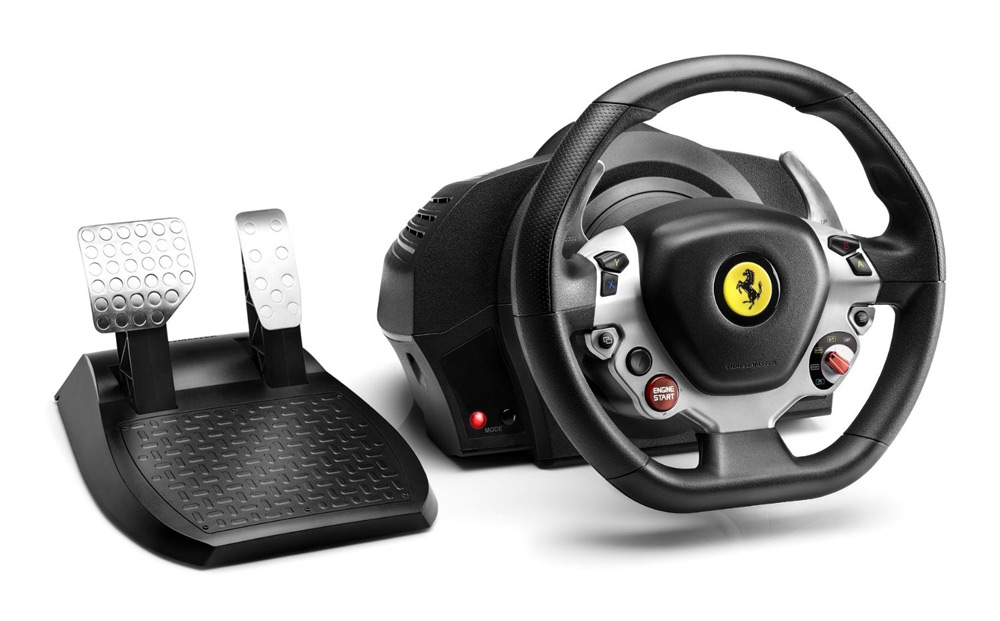 Volant THRUSTMASTER TX Ferrari 458 Italia Volant, pedály, pro Xbox One, PC 4460104