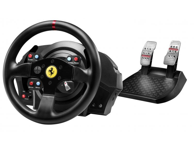 Volant THRUSTMASTER T300 RS FERRARI GTE Volant, pedály, pro PS3, PS4, PC 4160609