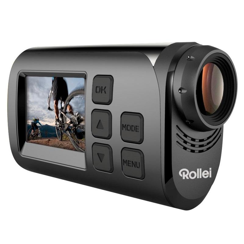 Kamera Rollei S-30 + hrudní držák Kamera, outdoor, hrudní držák, černá, limitovaná edice 40275