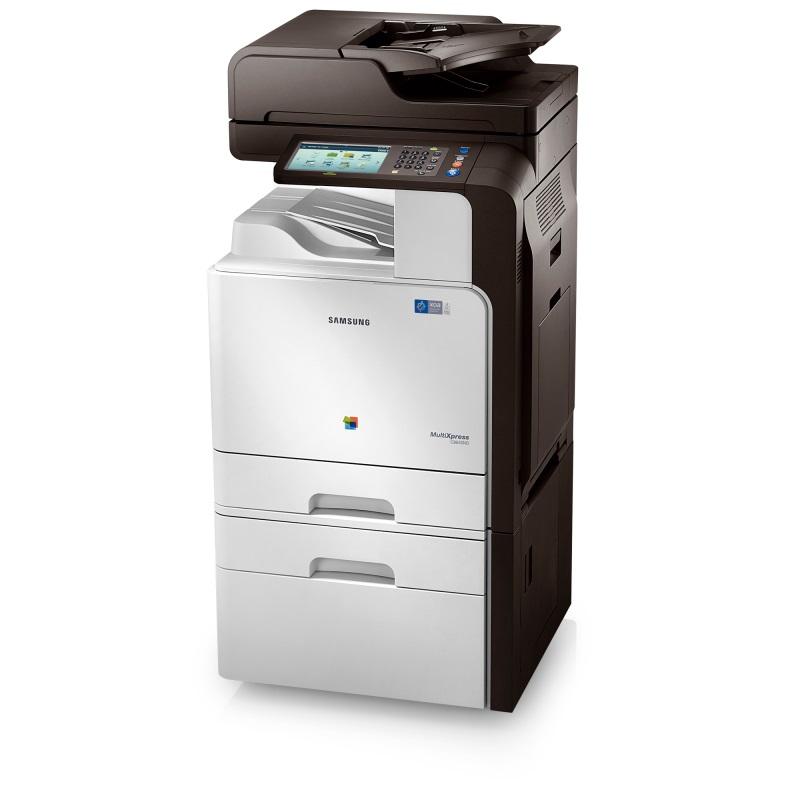 Multifunkční tiskárna SAMSUNG CLX-8640ND Barevná multifunkční laserová tiskárna, 7 dotyk.LCD, A4, 38ppm, 1200 x 600dpi, 1 GB, 320 GB HDD, PCL+PS, USB+LAN, Duplex, DADF CLX-8640ND/SEE