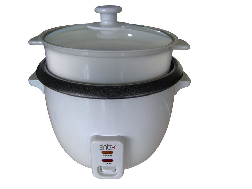 Vařič na rýži SINBO SCO5019 1 l Vařič na rýži, 1l, 400W, bílý SCO-5019