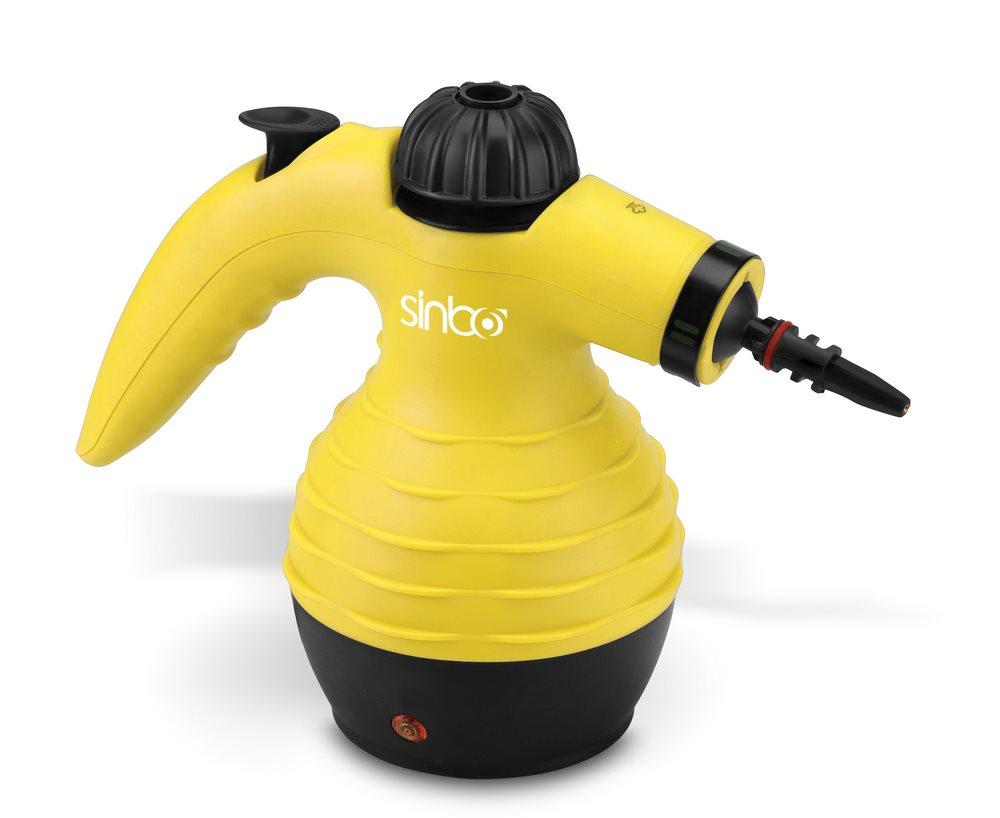 Parní čistič SINBO SSC-6411 Parní čistič, 250ml, 1050W, žlutý SSC-6411
