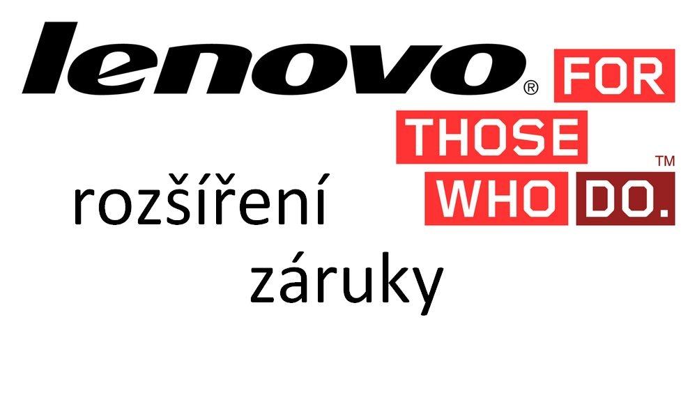Rozšíření záruky Lenovo z 1 na 4 roky, NBD Rozšíření záruky, pro ThinkPad integrovaná baterie 4y OnSite NBD z 1y CarryIn - email licence 5WS0G47327