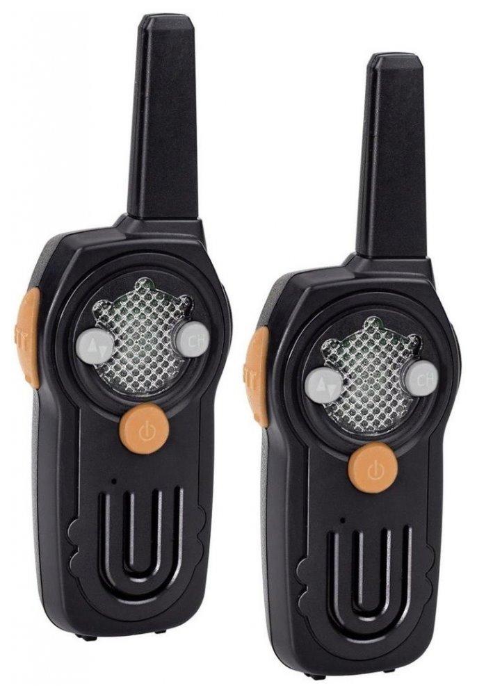 Vysílačka TOPCOM Twintalker RC-6430 Vysílačka, pro děti, dosah 3 km, LED podsvícení pro různé kanály, 2 ks RC-6430