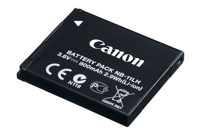 Baterie Canon NB-11LH Baterie, pro fotoaparát, NB-11LH, 3,6V, 800mAh, 2,9Wh, Li-Ion, pro Canon PowerShot SX400, SX410 9391B001AA