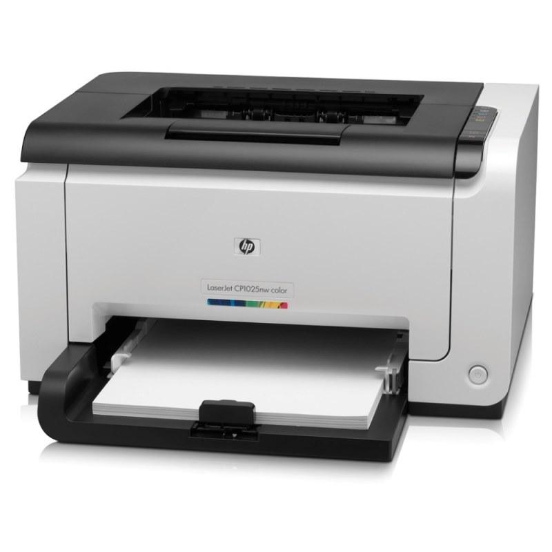 Laserová tiskárna HP LaserJet CP1025nw Barevná laserová tiskárna, ePrint A4,16/4ppm,600x600dpi,USB+LAN+Wifi CE918A