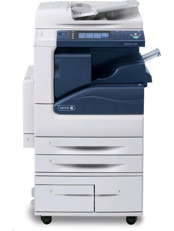 Multifunkční tiskárna Xerox WorkCentre 5300V_F Černobílá multifunkční laserová tiskárna, A3, bez iniciazičního kitu, USB, Ethernet 1GB, DUPLEX, HDD 160GB, DADF 5300V_F