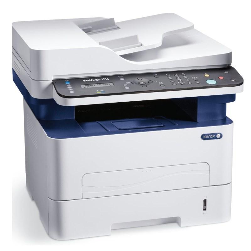 Multifunkční tiskárna Xerox WorkCentre 3215V_NI Černobílá multifunkční laserová tiskárna, A4, USB, Ethernet, WiFi, 256 MB, ADF, 26ppm 3215V_NI