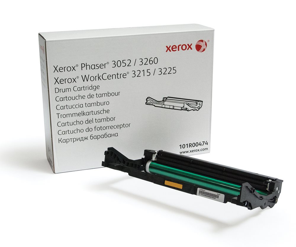 Tiskový válec Xerox 101R00474 Tiskový válec, originální, pro Xerox Phaser 3052/3260, WorkCentre 3215/3225, 10000 stran, černý 101R00474