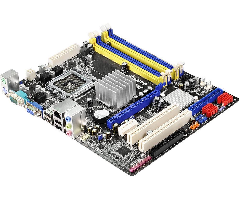 Základní deska ASRock G41C-GS R2.0 Základní deska, G41, soc.775, 2x DDR3 + 2x DDR2, m-ATX G41C-GS R2.0