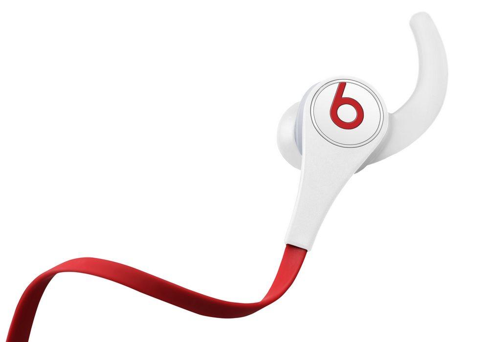 Sluchátka Beats by Dr. Dre Tour 2.0 bílá Sluchátka, do uší, pecky, 4 páry nástavců do uší, 3 páry nástavců za uši, 1,25 m, White MH7Y2ZM/A