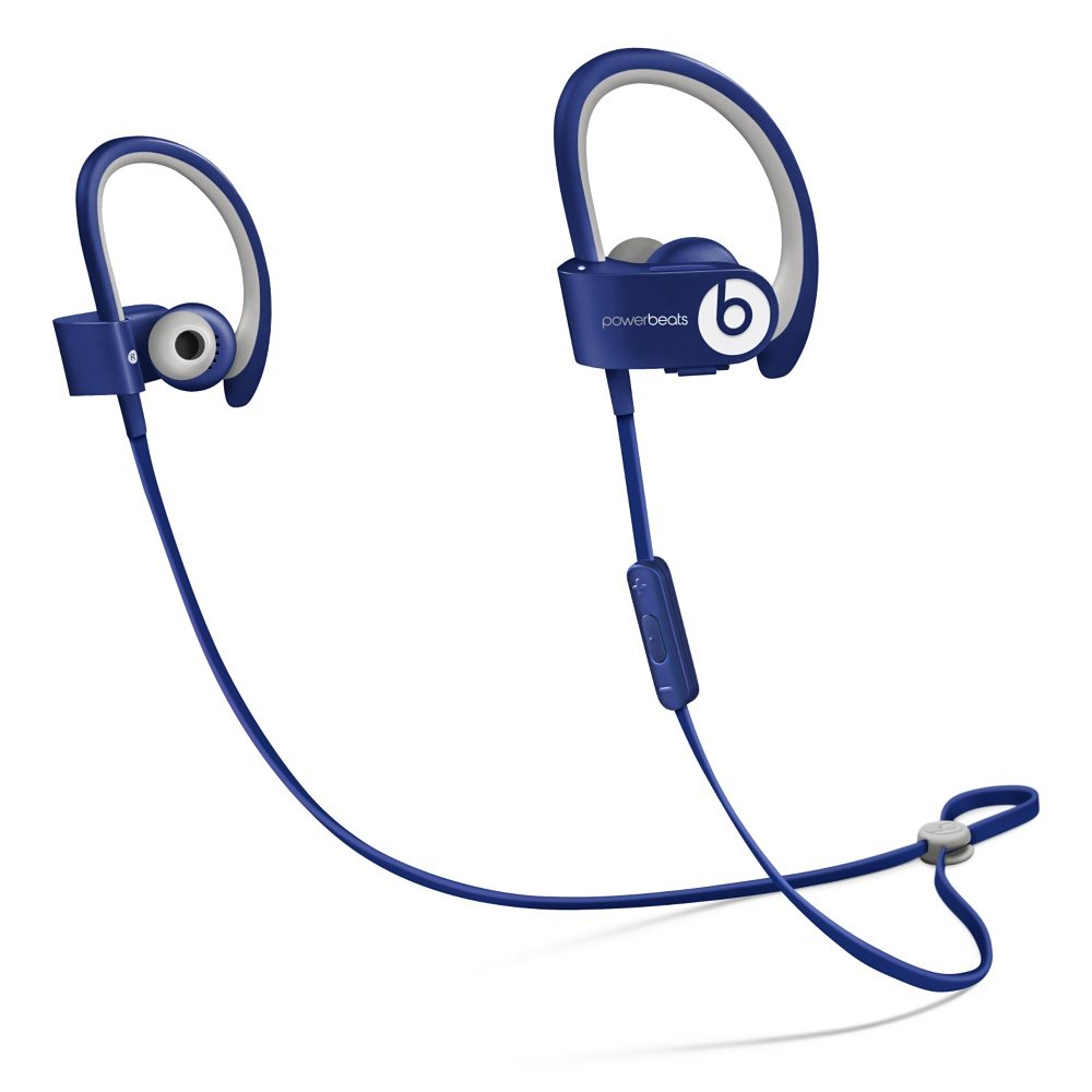 Sluchátka PowerBeats2 by Dr. Dre Wireless modrá Sluchátka, sportovní, bezdrátová, voděodolná, do uší, pecky, 4 páry nástavců do uší, odolné pouzdro, 0.5m, Cobalt Blue new MHBV2ZM/A