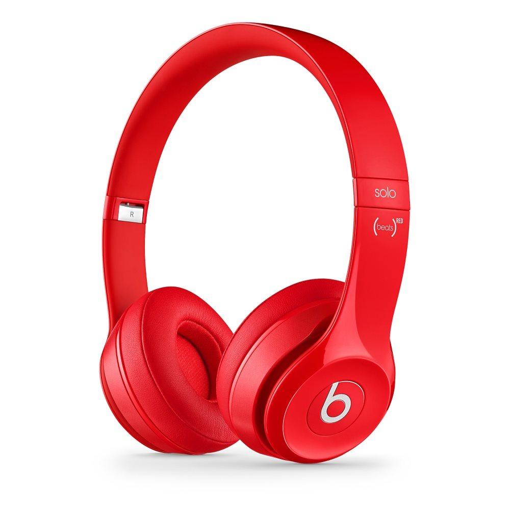 Sluchátka Beats by Dr. Dre Solo 2 červená Sluchátka, náhlavní, uzavřená, pouzdro, 1,36 m, Red MH8Y2ZM/A