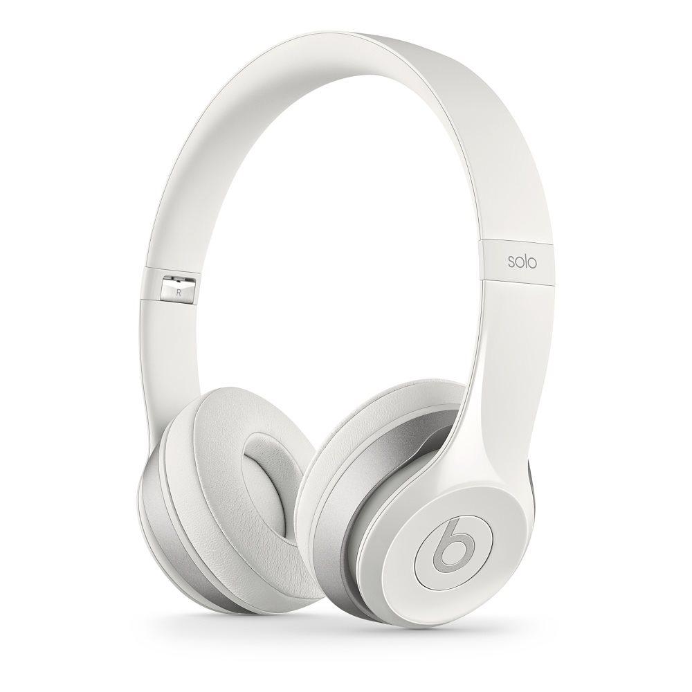Sluchátka Beats by Dr. Dre Solo 2 bílá Sluchátka, náhlavní, uzavřená, pouzdro, 1,36 m, White MH8X2ZM/A