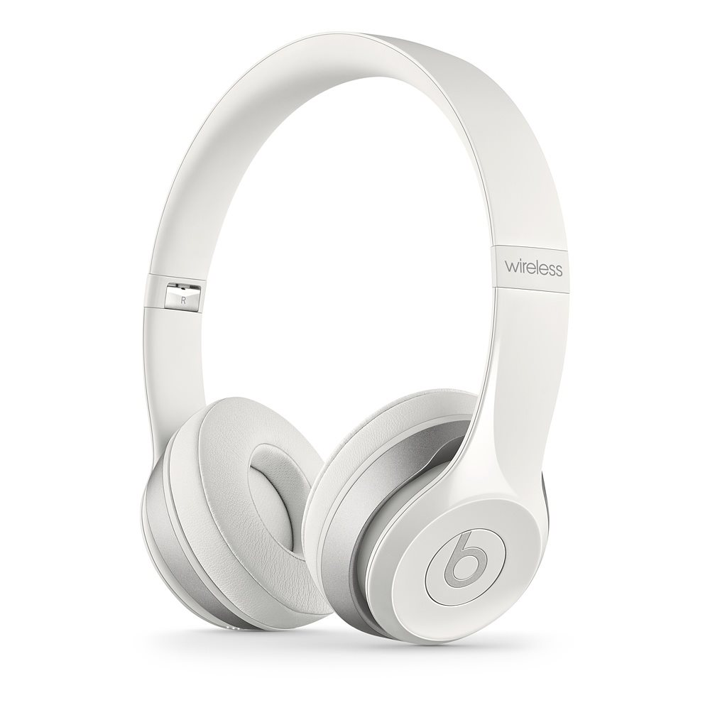 Sluchátka Beats by Dr. Dre Solo 2 Wireless bílá Sluchátka, bezdrátová, náhlavní, uzavřená, pouzdro, White MHNH2ZM/A