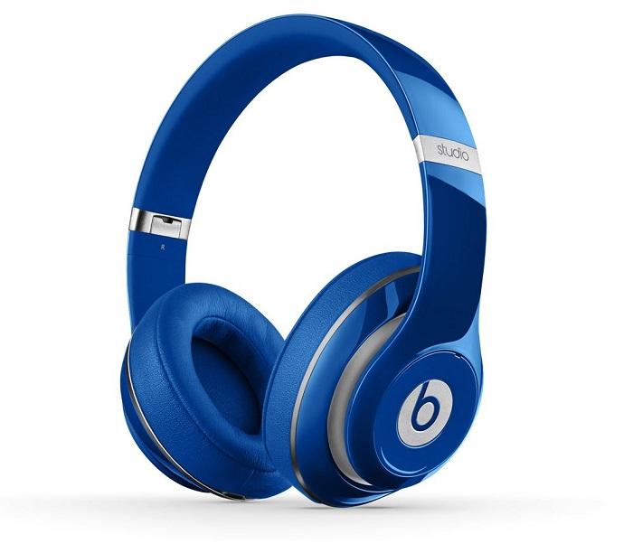 Sluchátka Beats by Dr. Dre Studio 2.0 modrá Sluchátka, drátová, náhlavní, uzavřená, pouzdro, Blue MH992ZM/A