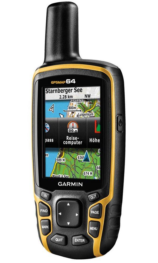 Turistická navigace GARMIN GPSMAP 64 PRO Turistická navigace, nedotykový 2.6, ruční, outdoorová, turistická mapa ČR, elektronický kompas, GPS výškoměr, voděodolná, podpora Geocaching 010-01199-90