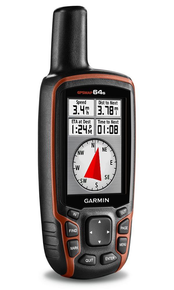 Turistická navigace GARMIN GPSMAP 64s PRO Turistická navigace, nedotykový 2.6, ruční, outdoorová, turistická mapa ČR, elektronický kompas, barometrický výškoměr, voděodolná, podpora Geocachin 010-01199-91