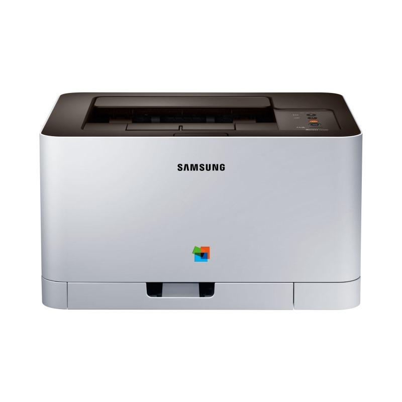Laserová tiskárna SAMSUNG SL-C430 Barevná laserová tiskárna, A4,18/4ppm, 2400x600 dpi, 400 MHz, 64 MB, SPL, USB SL-C430/SEE