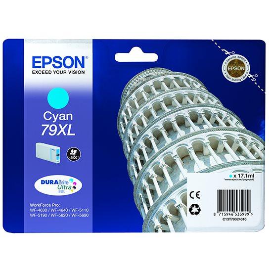 Epson inkoustová náplň/ T7902/ WF-5620/ WF-5690/ 17.1ml/ XL Modrá