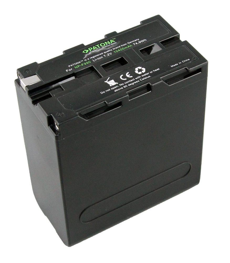 Baterie PATONA pro videokameru SONY 10400 mAh Baterie pro videokameru, kompatibilní s NP-530, NP-730, NP-930, 7.2 V, 74.9 Wh, 10400mAh, Li-Ion, pro serie Sony CCD, DCR, DSC, DSR, GV, MVC, HDR, VCL PT1237