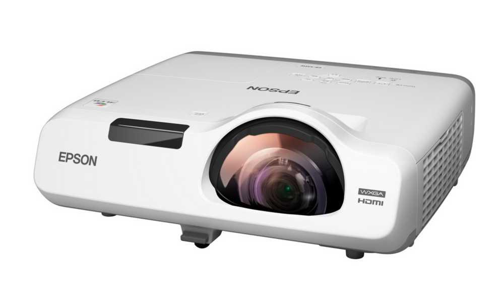 Projektor EPSON EB-525W Projektor, WXGA, 2800 ANSI, 16 000:1, HDMI, VGA, LAN V11H672040