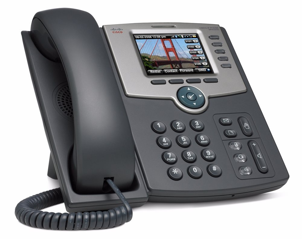 Telefon VoIP Cisco Small Business SPA 525G2 Telefon VoIP - SIP, SIP v2, SPCP, Wifi, BT, PoE SPA525G2-EU