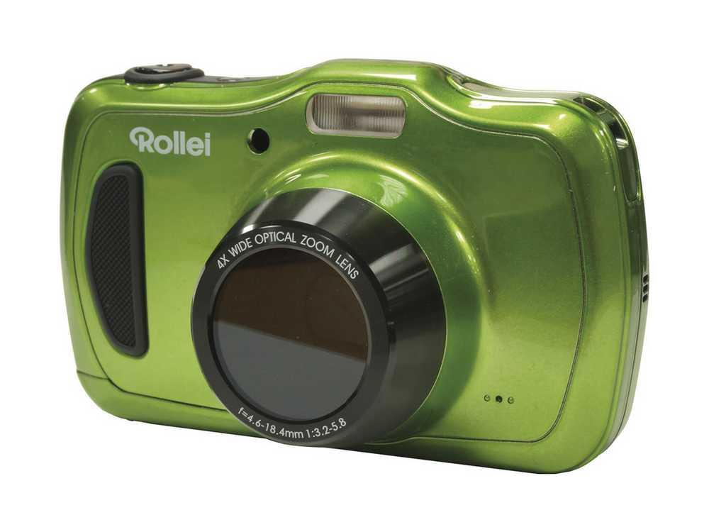 Digitální fotoaparát Rollei Sportsline 100 zelený Digitální fotoaparát, 20 MPx, 4x zoom, 2.7 LCD, voděodolný, HD video, zelený 10056
