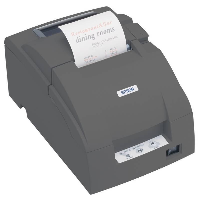 Pokladní tiskárna EPSON TM-U220PD-052 Pokladní tiskárna, paralelní, včetně zdroje, černá C31C518052