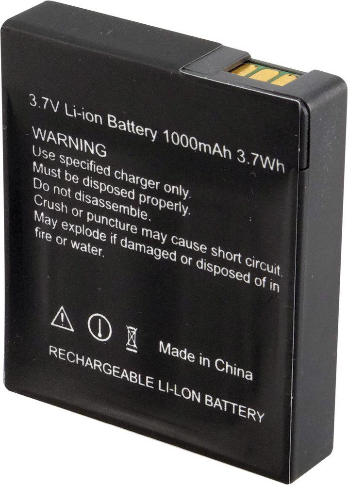 Baterie Rollei pro videokamery ActionCam 1000 mAh Baterie pro videokameru, 3.7V, 3.7Whr, 1000mAh, Li-Ion, pro ActionCam 230, 240, 400, 410 21592