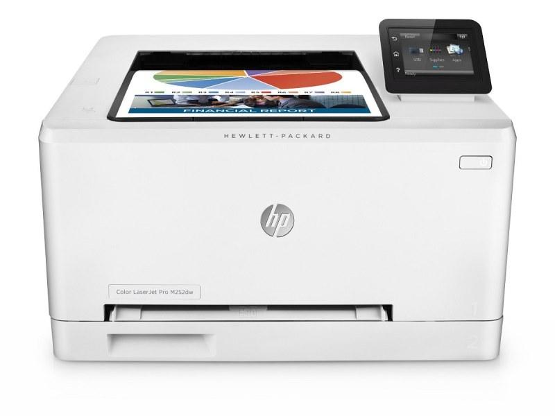 Laserová tiskárna HP Color LaserJet Pro M252dw Barevná laserová tiskárna, A4, 18ppm, 600x600, USB, LAN, Wifi, Duplex B4A22A